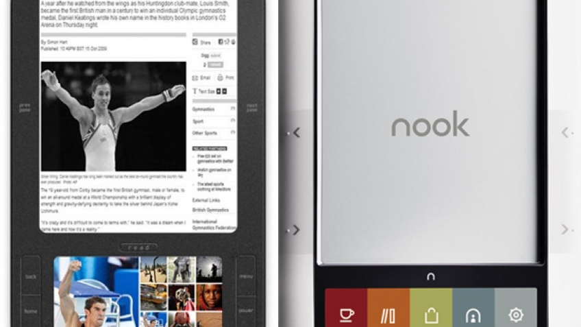 Spring Design судится с Barnes & Noble за дизайн Nook