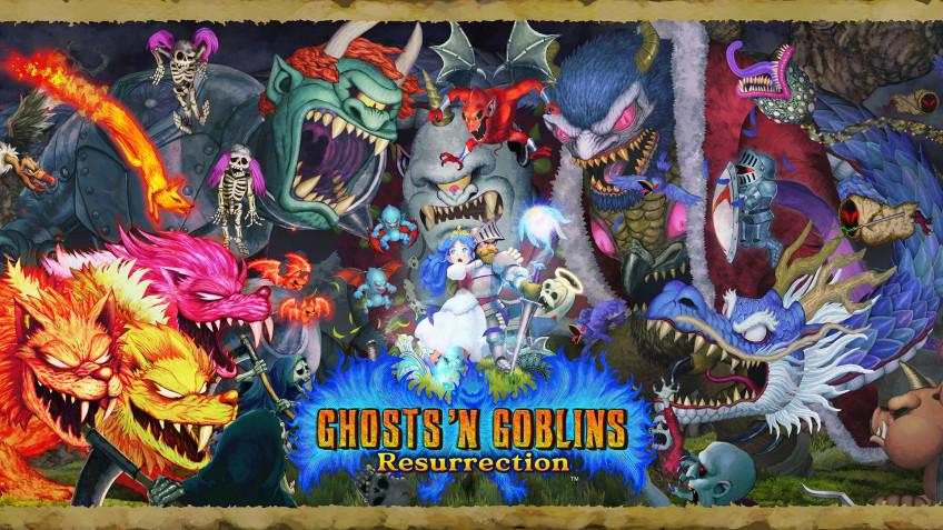 Ghosts 'n Goblins Resurrection: 10 минут игрового процесса