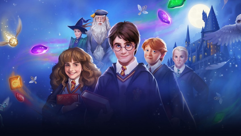 По мотивам «Гарри Поттера» делают игру «три в ряд»