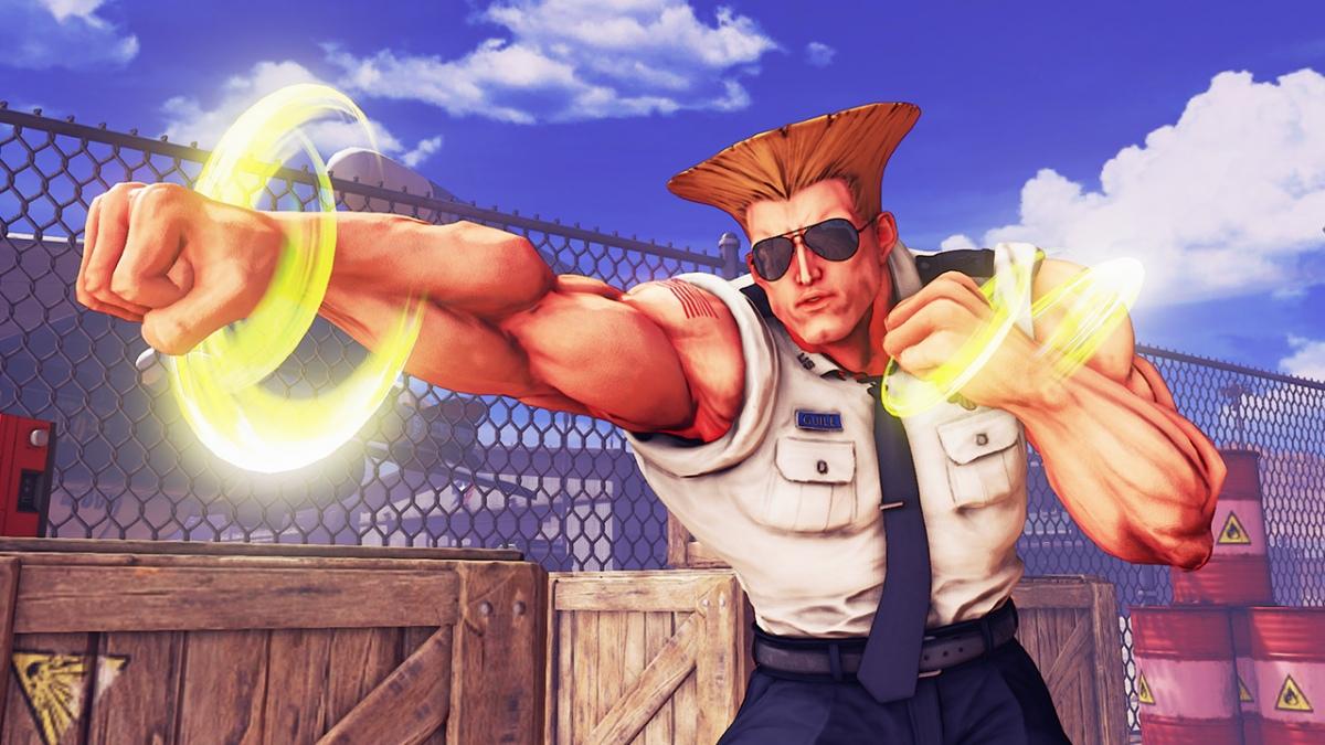 Гайл возвращается в Street Fighter5