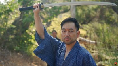 Актёр Дзина из Ghost of Tsushima сразился на настоящей дуэли