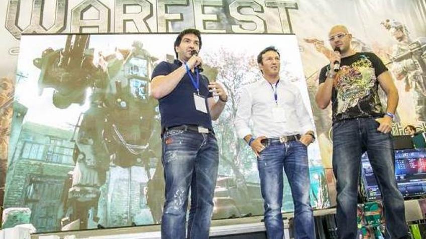 Сотрудники Crytek посетили фестиваль Warfest