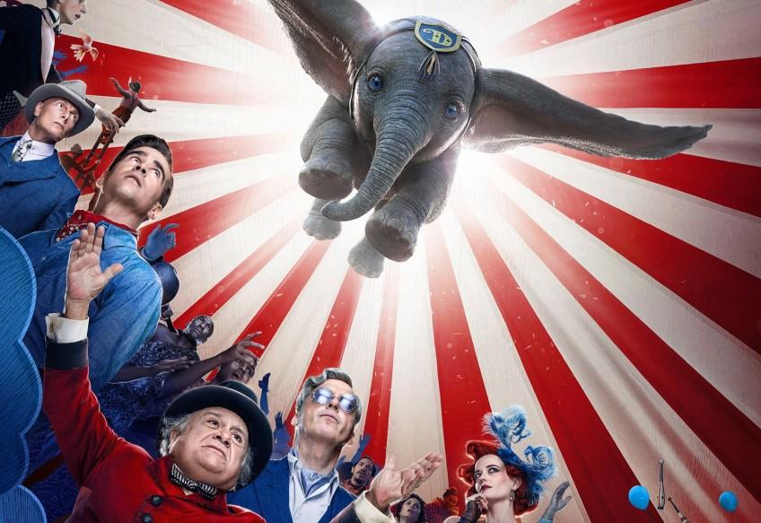 Дамбо учится летать в первом трейлере фильма «Дамбо»