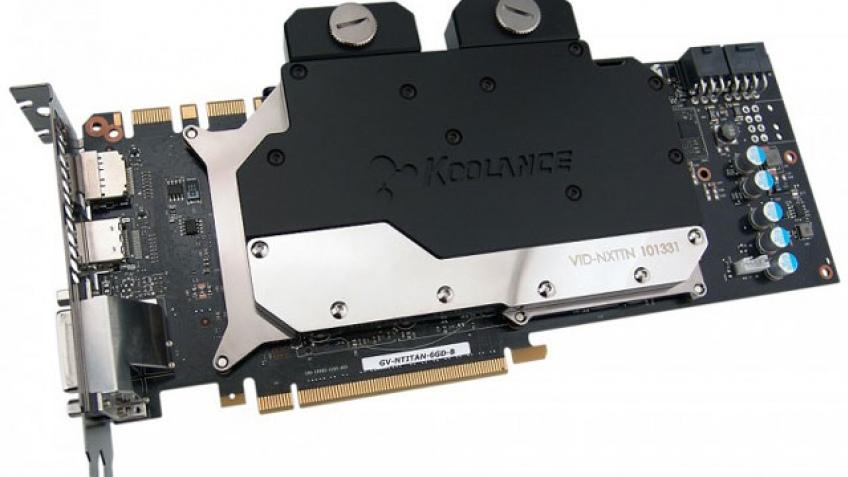 Koolance VID-NXTTN: еще один водоблок для Titan