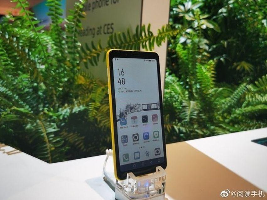 Hisense показала прототип смартфона с цветным E ink дисплеем