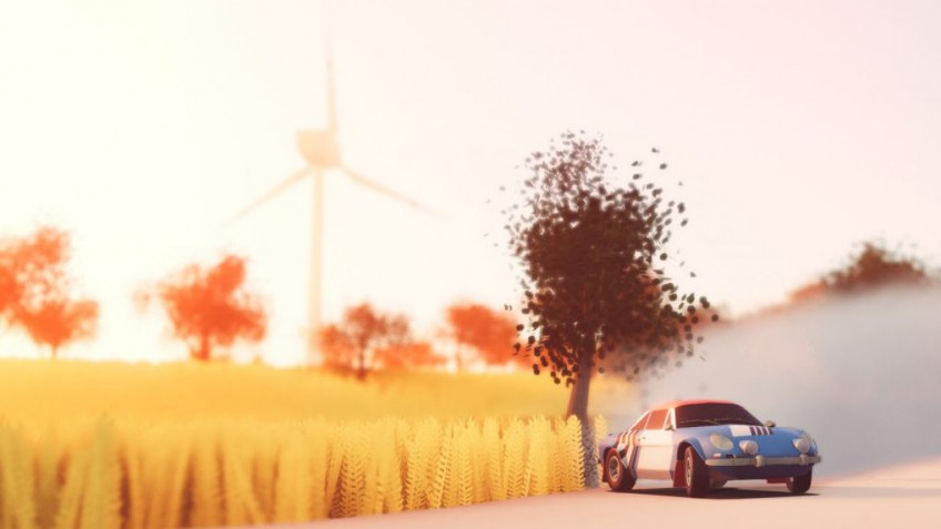 Гоночная игра art of rally выходит23 сентября