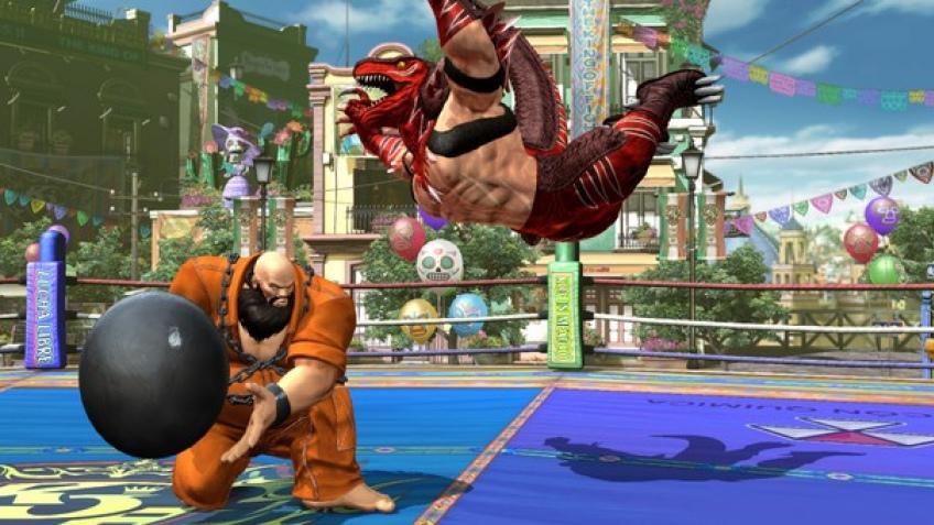 В The King of Fighters XIV можно будет сыграть за Короля Динозавров