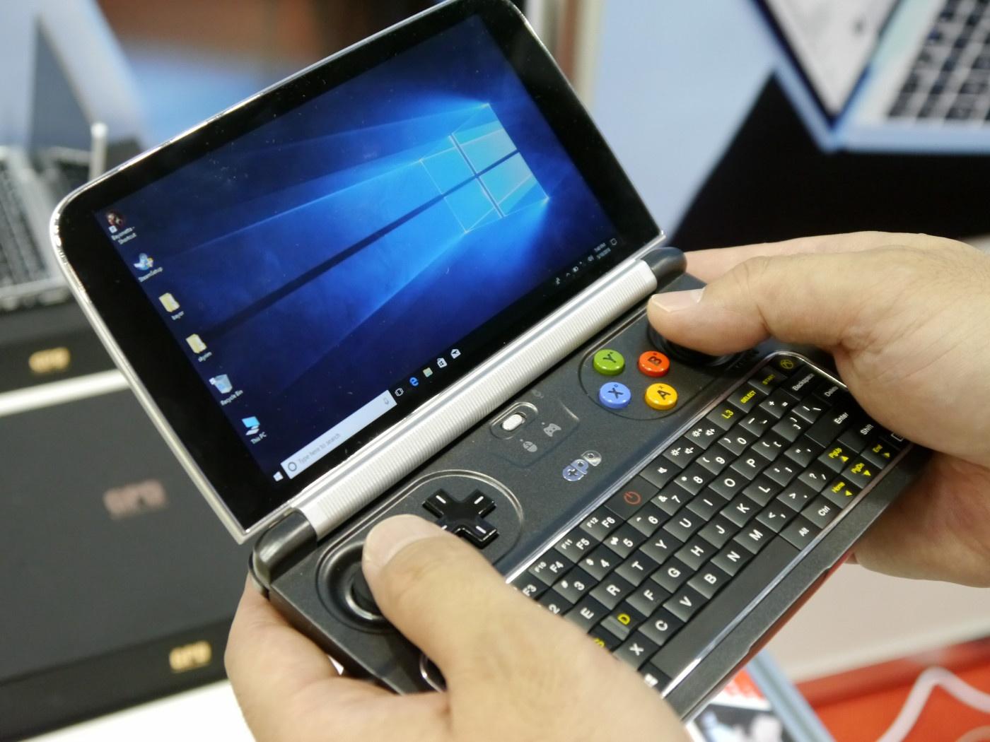 Утечка: компактный игровой лэптоп GPD Win Max получит графику Intel Iris Plus
