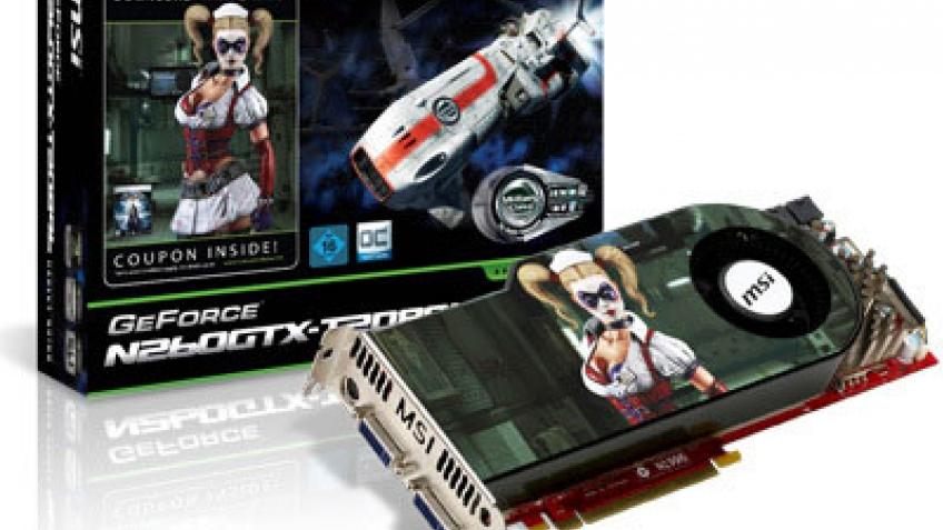 MSI продает GeForce GTX 260 в паре с Batman Arkham Asylum