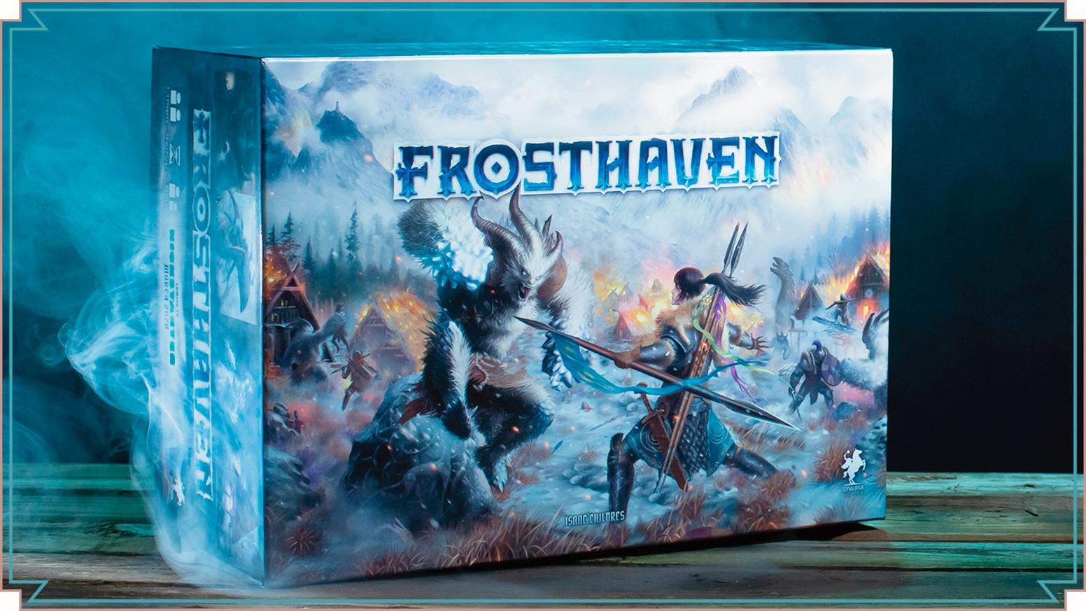 Настолка Frosthaven оказалась самой «дорогой» игрой на Kickstarter