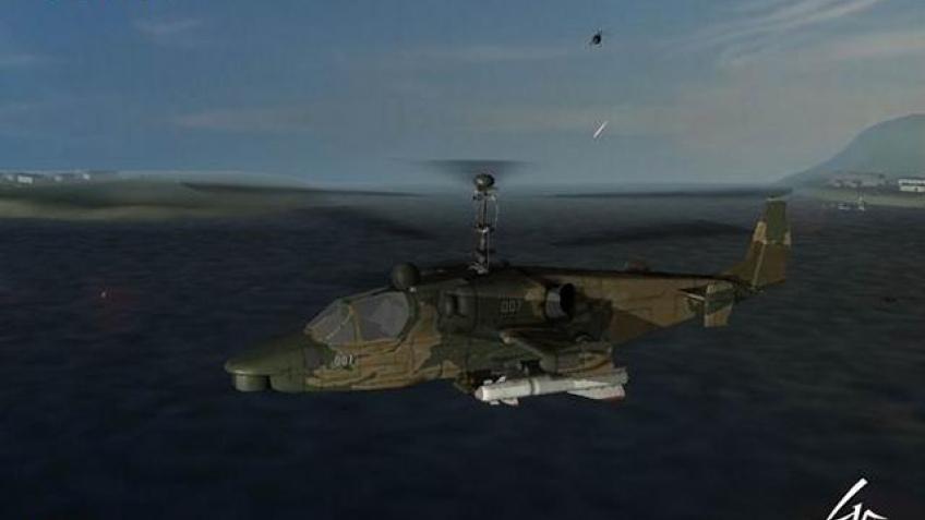 Вертолеты заводят моторы