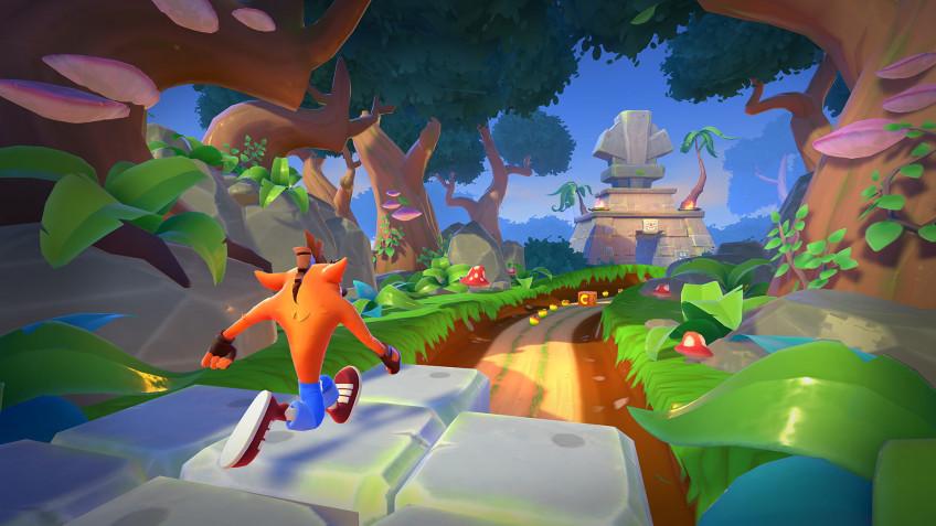 Crash Bandicoot: On the Run — вторая самая скачиваемая мобильная игра марта
