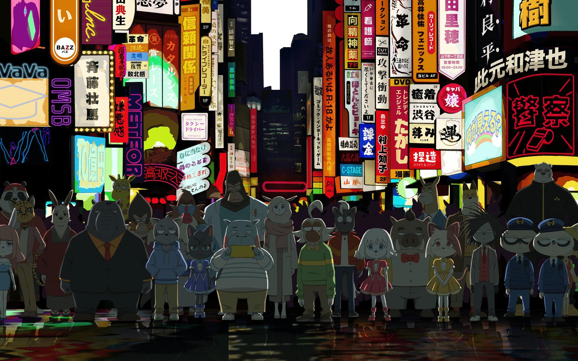 Crunchyroll анонсировал пять новых аниме