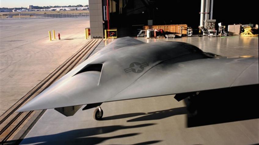 Boeing  протестировали свой беспилотный самолет Phantom Ray