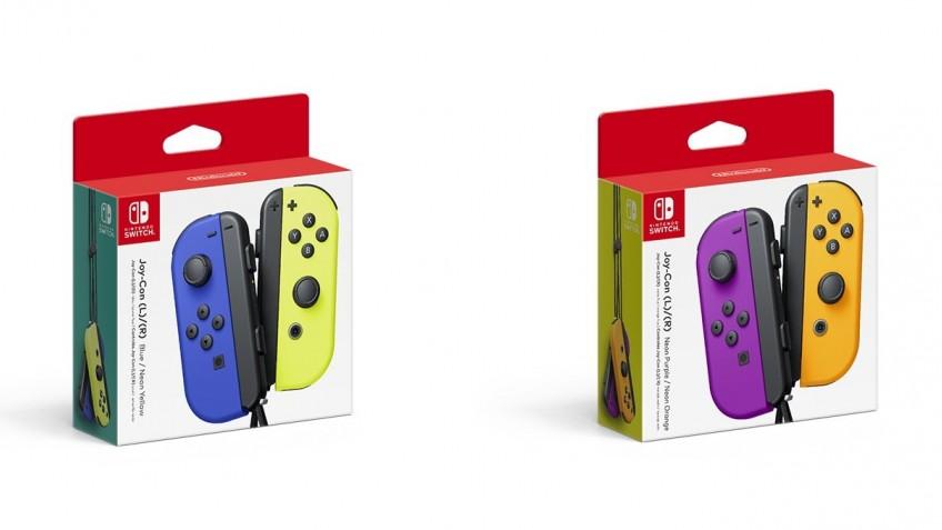 Nintendo показала новые цвета Joy-Con, но игроки недовольны проблемами прошлых моделей