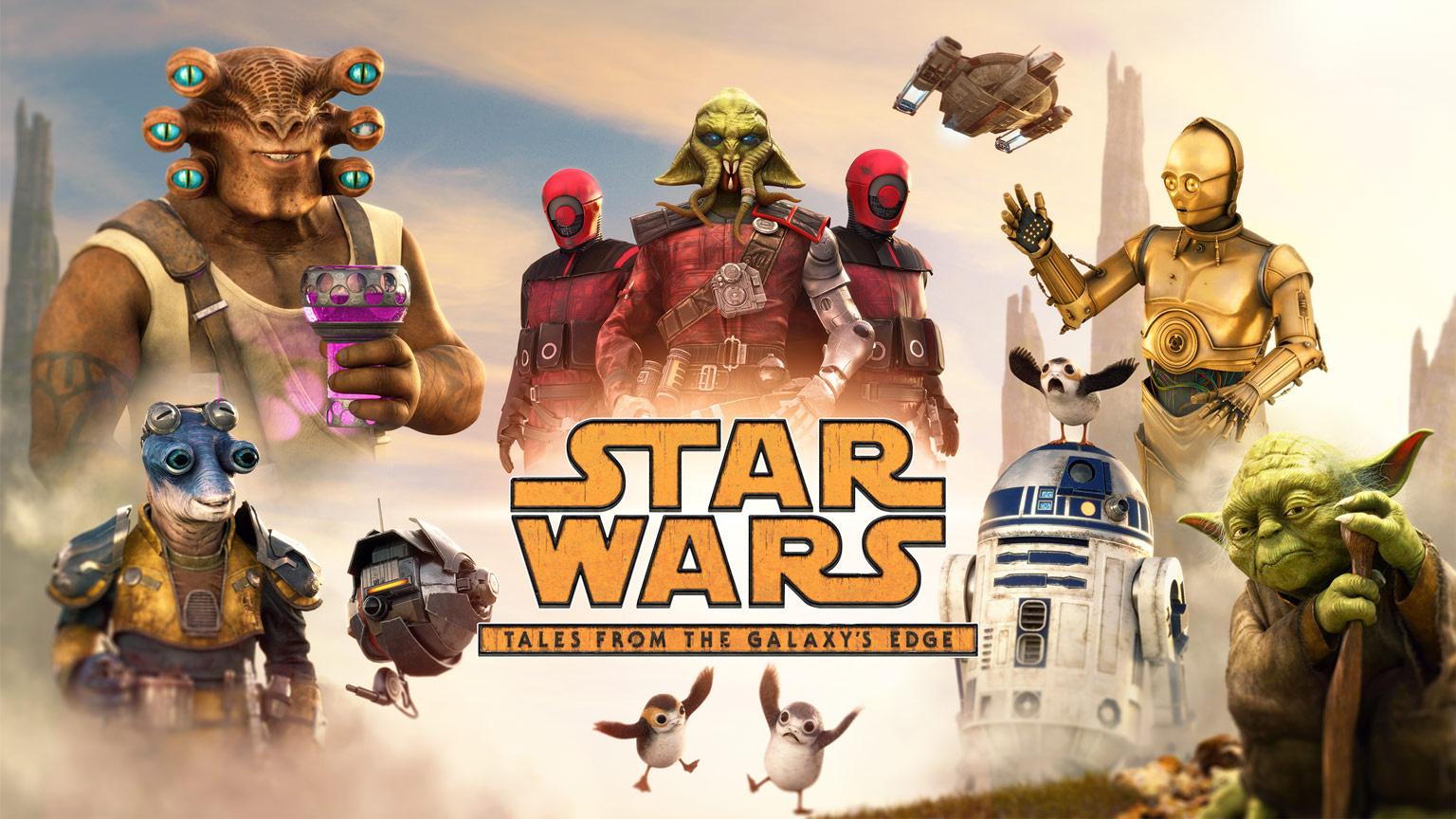 В трейлере Star Wars: Tales from the Galaxy's Edge показали встречу с Йодой