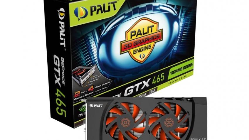 Palit покажет GeForce GTX 465 на выставке Computex