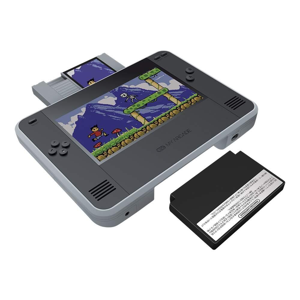 Nintendo Switch на минималках: портативная ретроконсоль работает с картриджами NES