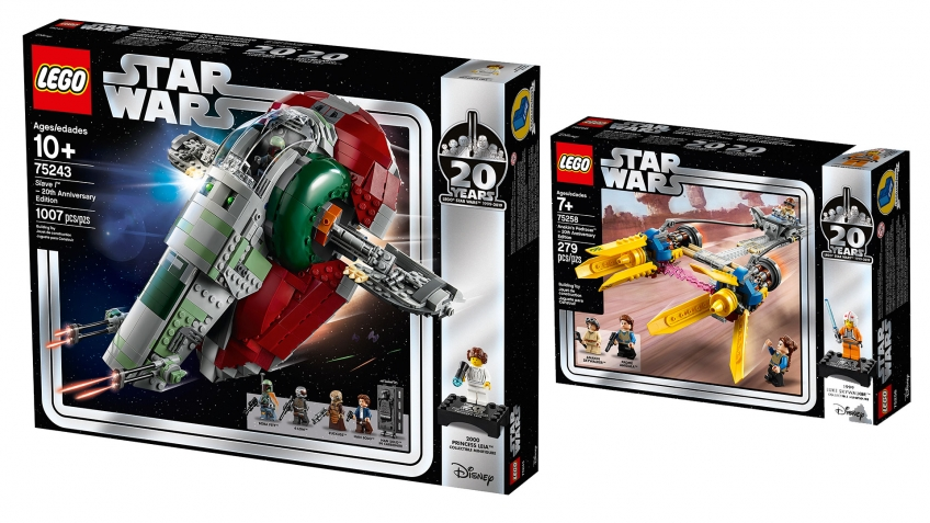 LEGO Group выпустила наборы к двадцатилетию LEGO Star Wars