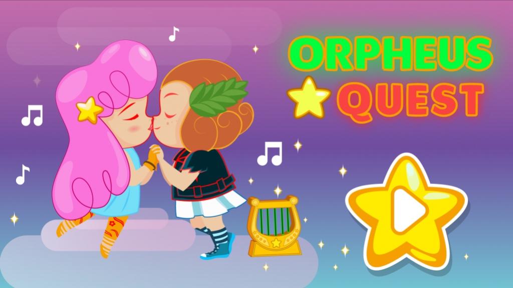 В игру Orpheus Quest можно сыграть на лазерной арфе