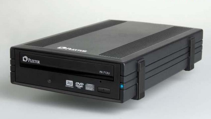 Внешний DVD-рекордер Plextor PX-712U