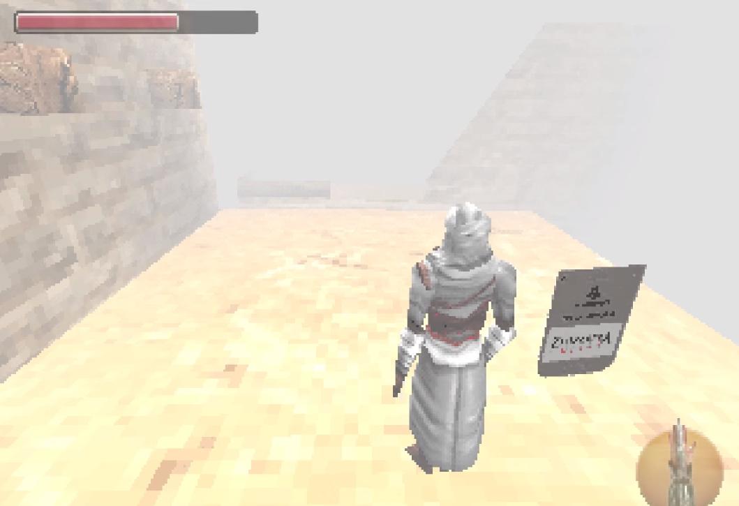 Как выглядела бы Assassin's Creed в 1998 году?