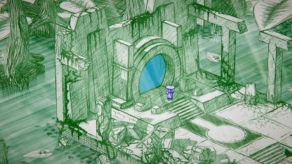 Сюжетную головоломку Inked: A Tale of Love выпустили на PlayStation и Xbox