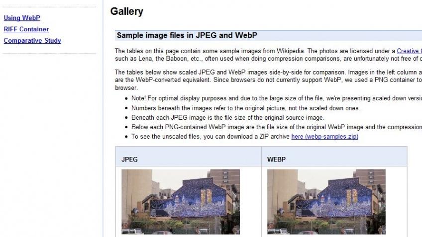 Google предлагает новый стандарт для фотографий в интернете