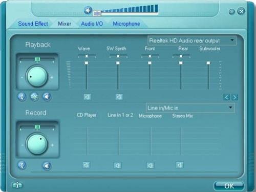 Новый драйверы для Realtek HD Audio