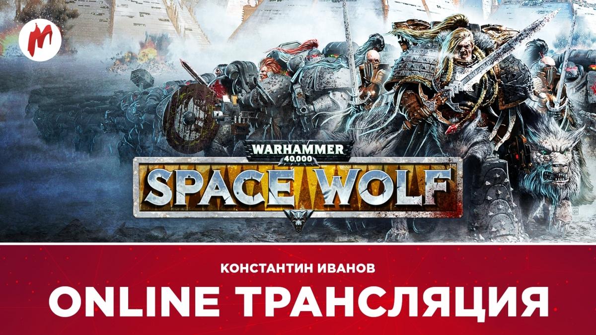 Warhammer 40,000: Space Wolf, Hollow Knight и Horizon Zero Dawn в прямом эфире «Игромании»