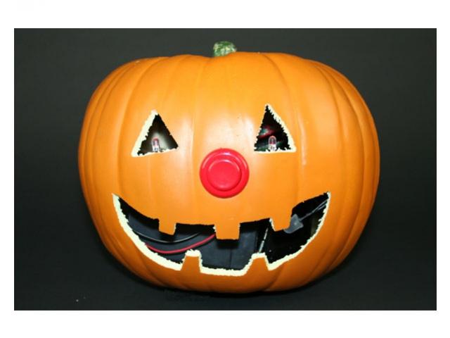 Электротыква на Halloween