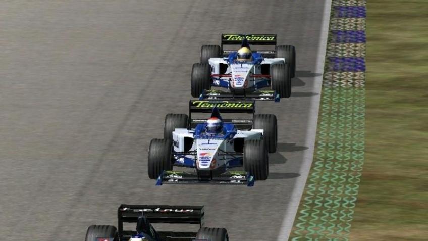 На экране – Формула-1