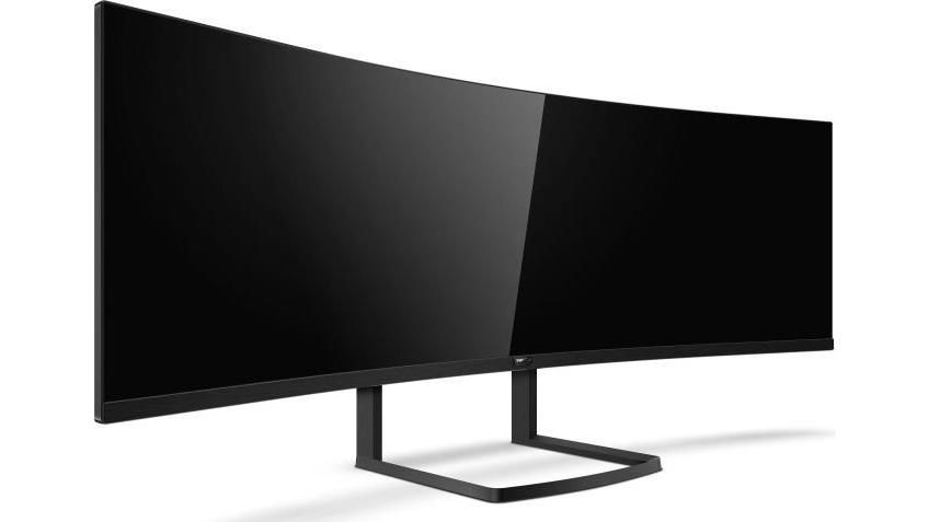 Philips представила монитор Brilliance 492P8 с разрешением 5120x1440 точек