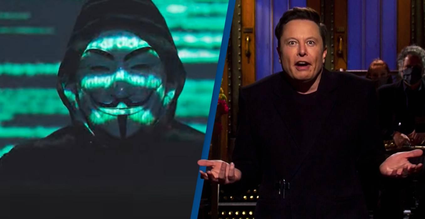Хакерская группа Anonymous угрожает Илону Маску