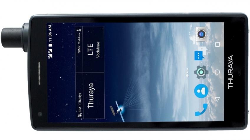 Thuraya представила первый в мире спутниковый смартфон X5-Touch
