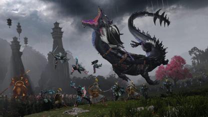 Авторы Total War Warhammer III представили небесную империю Катай