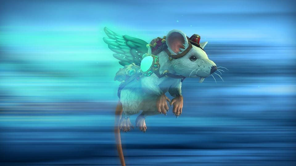 Blizzard дарит летающую крысу за подписку на World of Warcraft