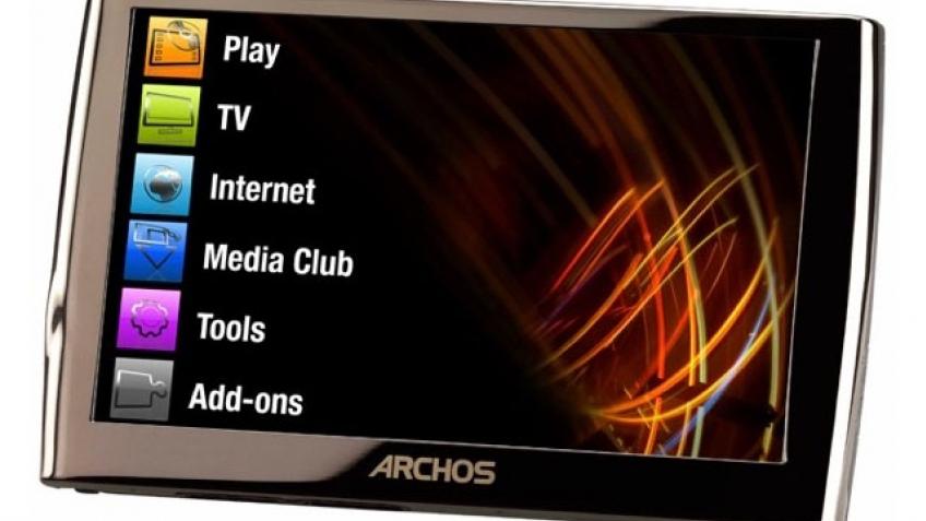 Archos готовит стильный медиапланшет