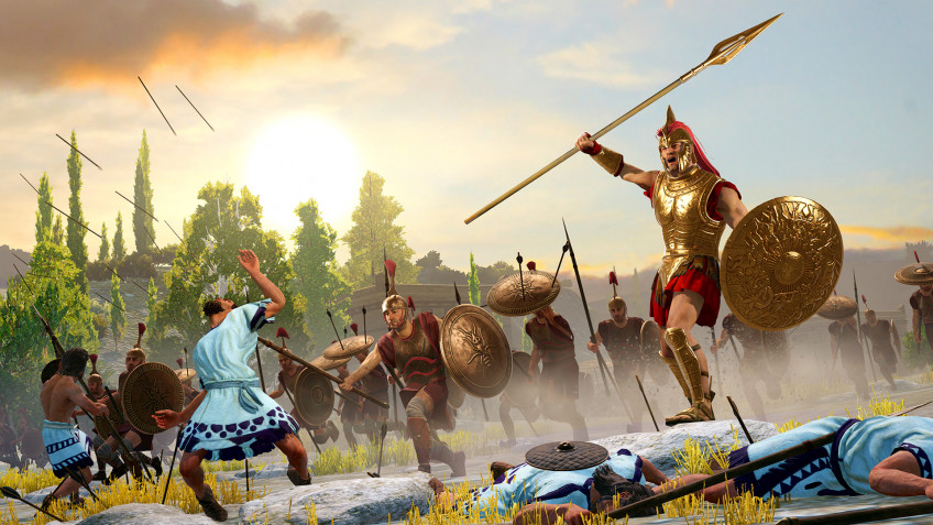 Авторы Total War Saga: Troy обновили бету мультиплеера