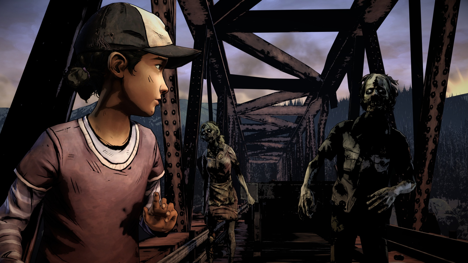 Скриншот к игре The Walking Dead: The Telltale Definitive Series (2019) | License