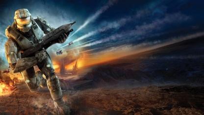 Стример прошёл Halo3 с помощью контроллера для Guitar Hero
