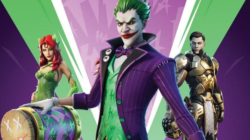 Джокер сыграет в Fortnite: анонсирован набор The Last Laugh Bundle