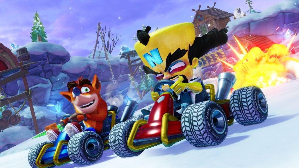 Как Crash Team Racing Nitro-Fueled выглядит и работает на PS4, Xbox One и Switch?