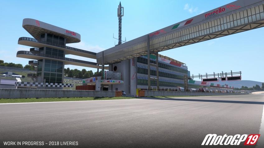 В MotoGP19 отыщутся исторические моменты из прежних частей