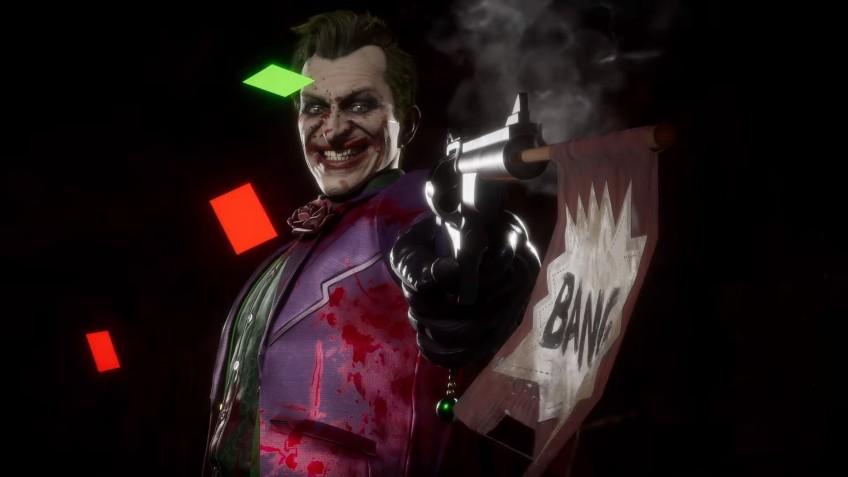 Убийственная шутка: трейлер Джокера для Mortal Kombat11