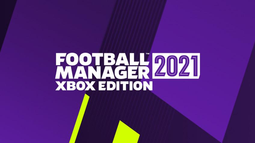 Football Manager 2021 выходит на Xbox1 декабря
