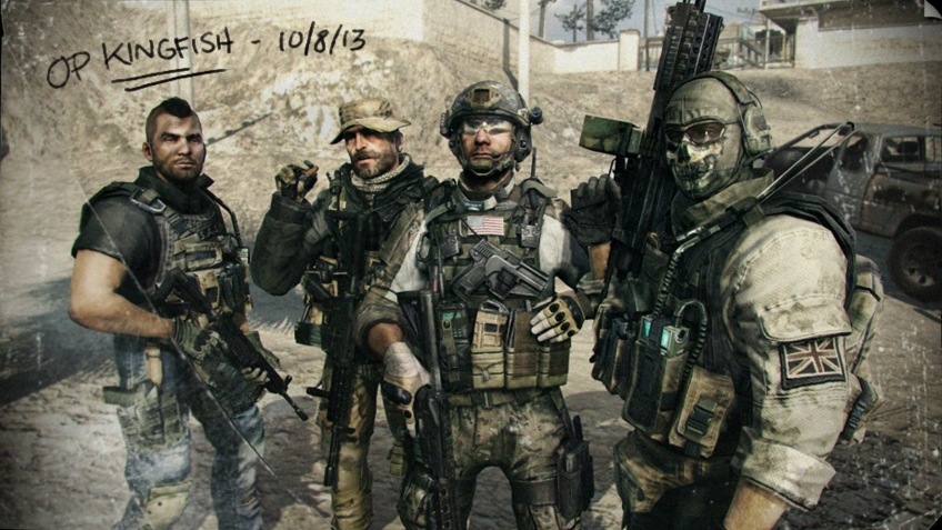 Слух: Call of Duty: Modern Warfare4 выйдет8 октября — она связана с Гоустом