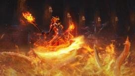 В обновлении «Из пламени» в Skyforge появятся пироманты