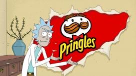 В новой рекламе Pringles Рик и Морти застряли в измерении чипсов