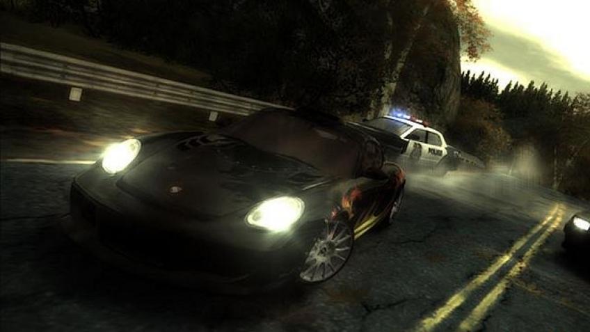 Черный-черный Need for Speed